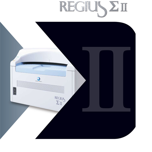 Digital X-ray machine model REGIUS ΣⅡ which give Superior image quality