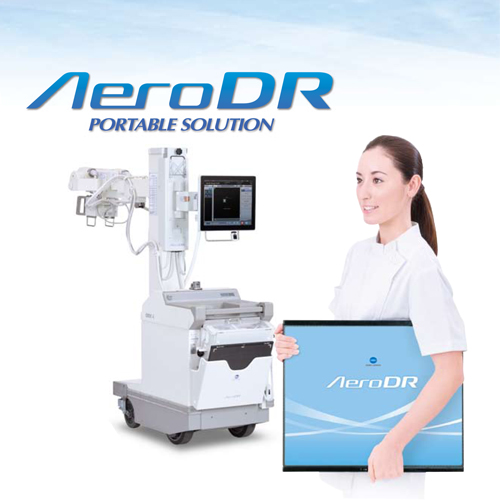 Latest Digital X-ray machine, model AeroDR Portable Solution